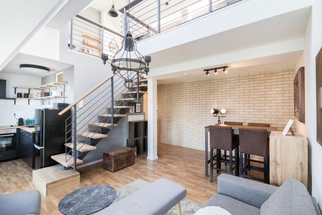 Wohnbereich mit Galerie © Christoph Neumann / ZIEGERT - Bank- und Immobilienconsulting GmbH