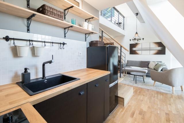 die offene Küche © Christoph Neumann / ZIEGERT - Bank- und Immobilienconsulting GmbH