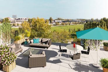 Immobilie-des-Monats_South-of-Potsdamer-Platz_Wohnpanorama_Terrasse_ZIEGERT-Immobilien