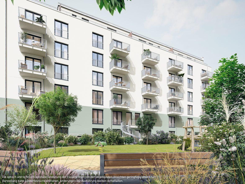 Seitenansicht © PROJECT Immobilien Wohnen AG