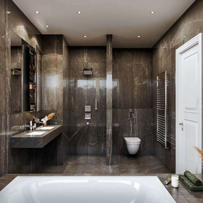 ein Blick ins Badezimmer © D & H Projektmanagement GmbH