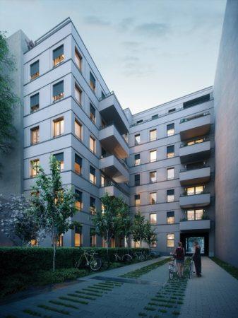 ein Blick in den Innenhof © D & H Projektmanagement GmbH