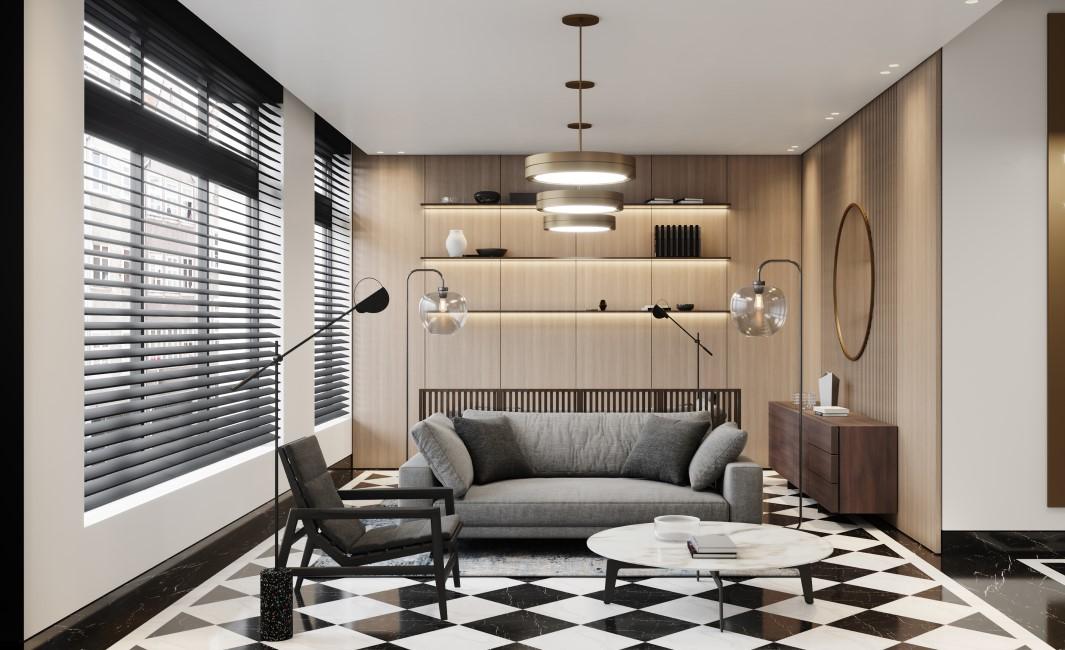 Innenansicht Wohnbereich © D & H Projektmanagement GmbH