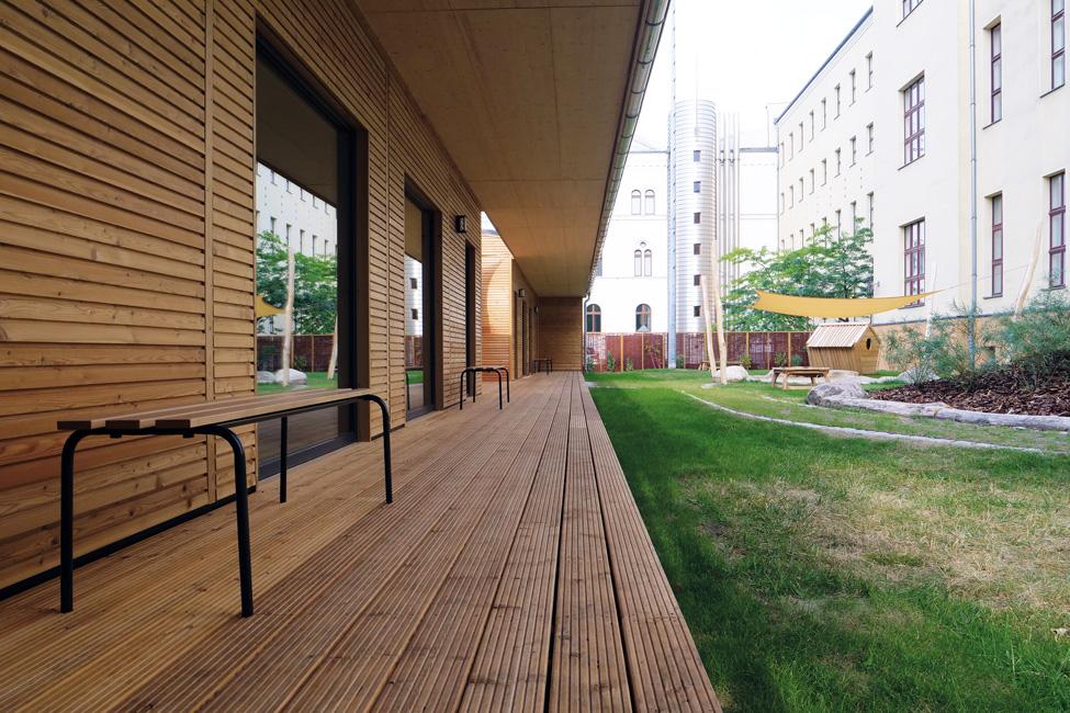 Immo-aktuell_Kita_MAX-Haus_P1100552 Die Bauklötze von einst sind jetzt Holzmodule
