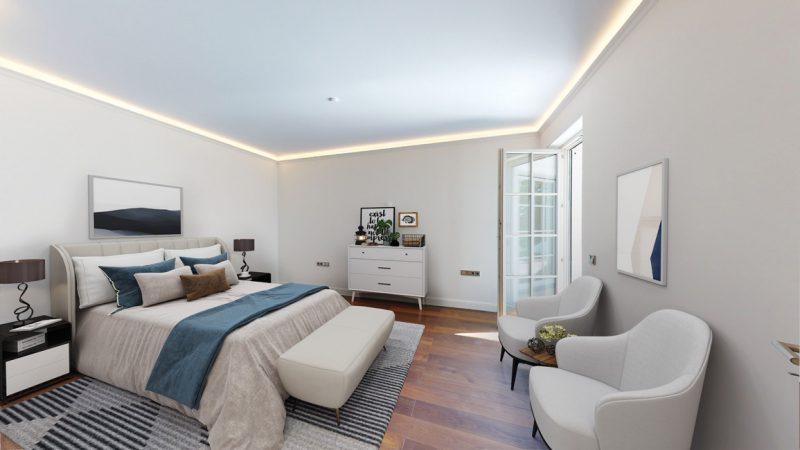 Unverbindliche Visualisierung - Müggelsee-Residenzen,  Schlafzimmer © D.K. Real Estate
