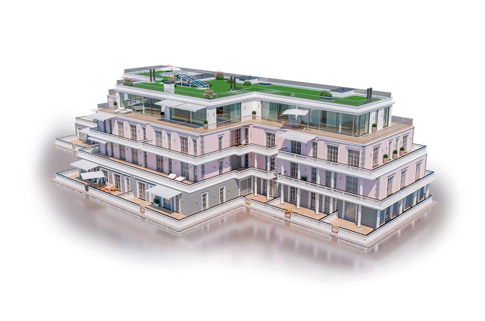 Architektur_Sonne-satt_KAB-Mueggelsee-Residenzen-Visualiserung-02- Sonne satt und Perlen am Ufer