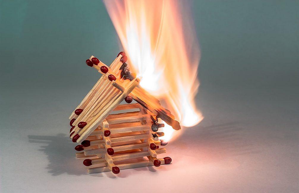 Hausbrand Brandschutz