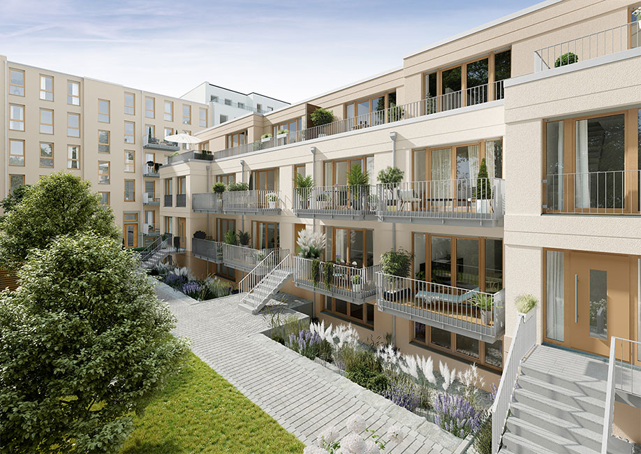 "PROJECT_KIEZ_Gloria_Hof PROJECT Immobilien verkauft letzte Wohnung des Neubauprojekts ""KIEZ & Gloria"" in Berlin"