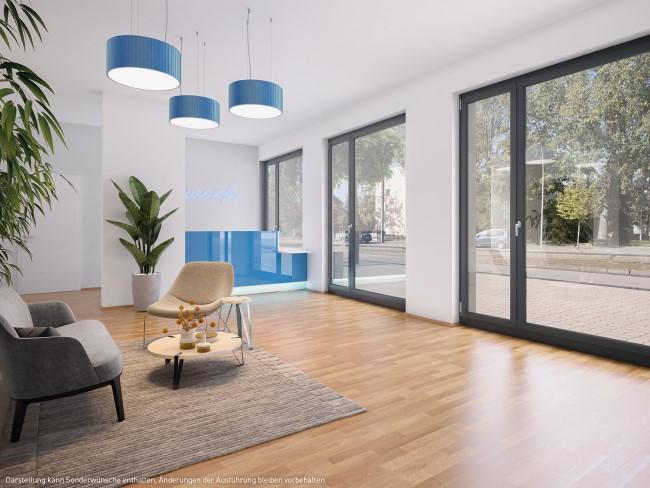 Gewerbebereich © PROJECT Immobilien Wohnen AG