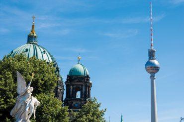 Berlin Dom und Fernsehturm