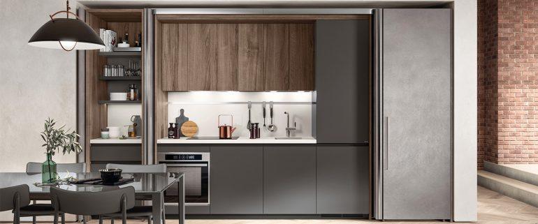 Versteckte kueche_ Schrankkueche_scavoliniBoxi-Modern-Apartment
