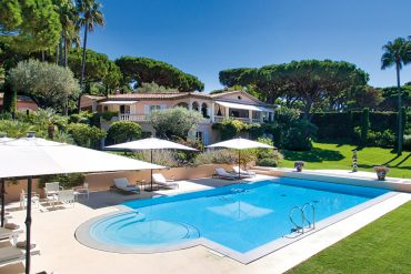 Mediterrane Villa in Saint Tropez Pool