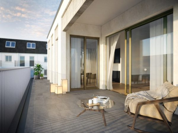 herrschaftliche Terrasse © unverbindliche Visualisierung / Ziegert EverEstate GmbH