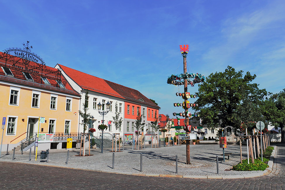 Teltow Rathausplatz © ArTo - stock.adobe.com