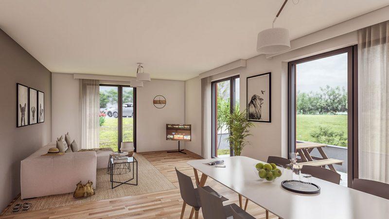 ein Blick in den Wohnbereich © Kensington Finest Properties International