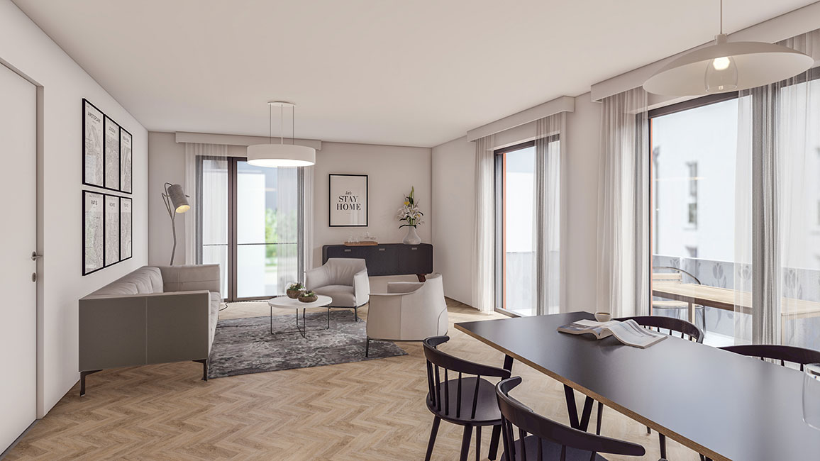 Wohnen und Arbeiten schließen sich nicht aus © Kensington Finest Properties International