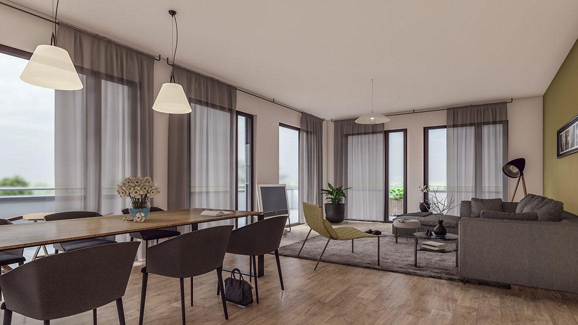 Wohnen im Penthouse © Kensington Finest Properties International