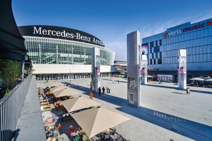 Mercedes-Benz Arena, Mercedes Platz © 2018 Ivo Gretener
