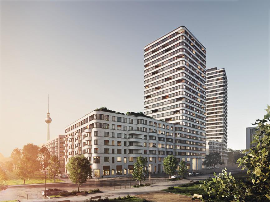 Kiezbericht_Friedrichshainer-Spree-Kiez_UPSIDE-Berlin_TPA_Upside_Berlin_E1_Strassenperspektive_HR_Typo Friedrichshainer Spree-Kiez