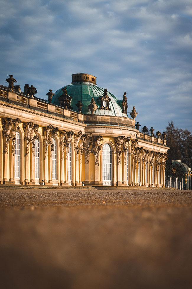 Schloss Sanssouci © Adrien Delforge