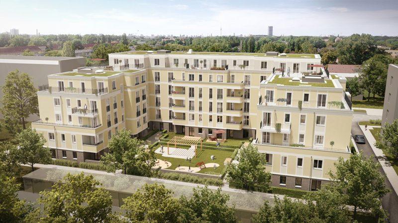 Unverbindliche Visualisierung © KW-Development / Architekturbüro Fuchshuber