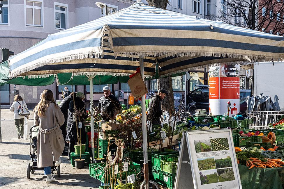 Markttreiben in Charlottenburg-Wilmersdorf © Ziegert EverEstate GmbH