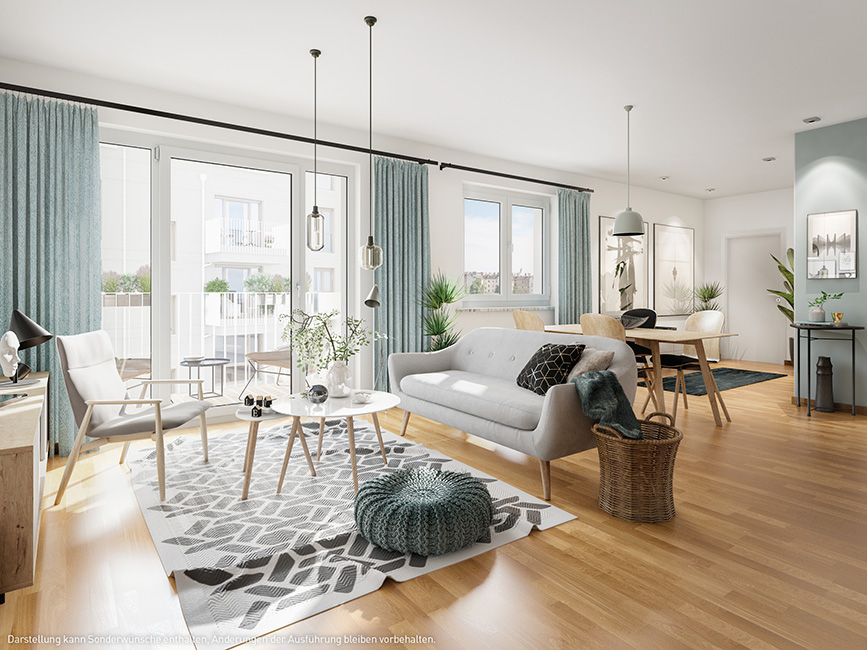 © 2021 PROJECT Immobilien Wohnen AG