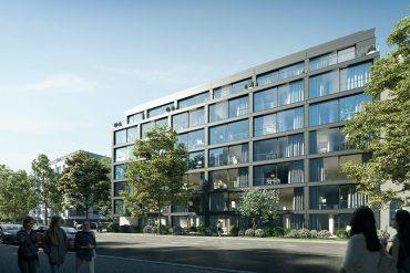 "Neues Berliner Stadthaus ""Thule 48"" im Bezirk Pankow"