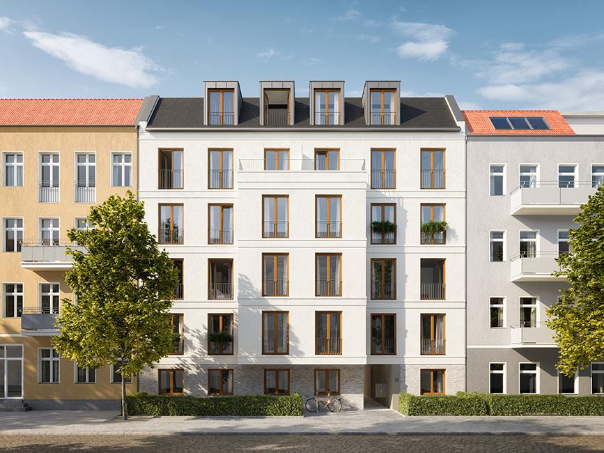 Außenansicht © unverbindliche Visualisierung / Ziegert EverEstate GmbH
