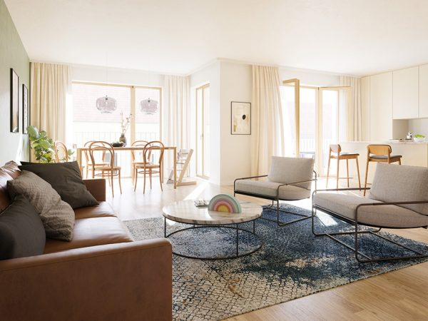 gemütlicher Wohnbereich © unverbindliche Visualisierung / Ziegert EverEstate GmbH
