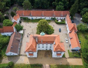 Jagdschloss Grunewald stitched