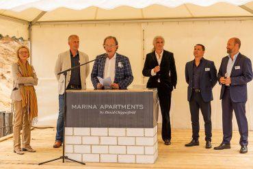 Marina-Apartments-Grundsteinlegung