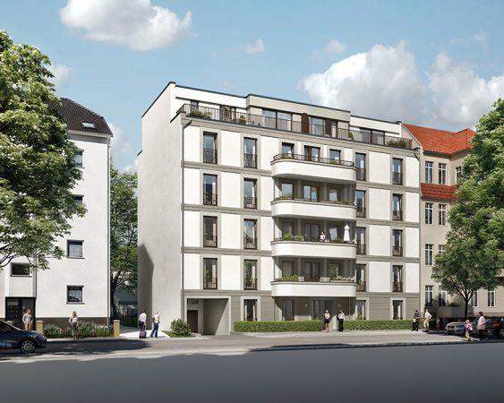 Das Saßnitzer, Hausfassade, 3D-Visualisierung © Archlab