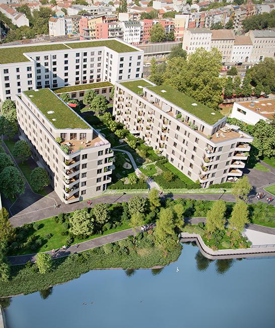 ein Blick von oben © 2021 Investa RuBu 1 GmbH & Co. KG