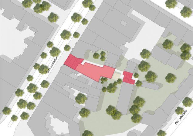 Lageplan © Patzschke Architekten