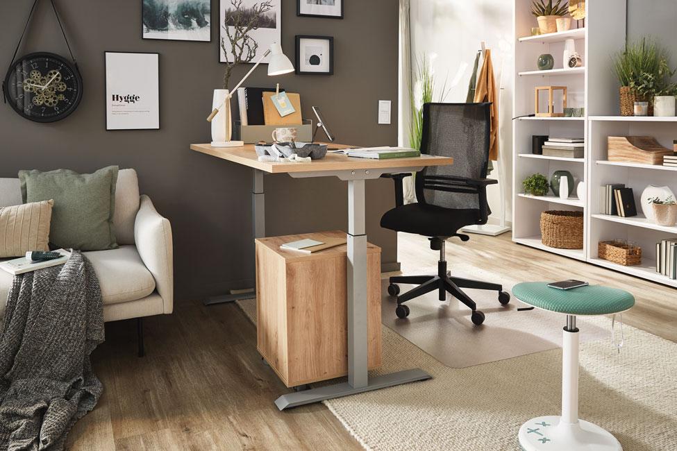 Porta_Office-Moebel_Homeoffice_klassisch Lebensmittelpunkt Arbeitszimmer