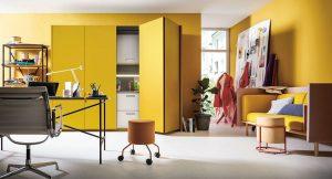 Work-at-Home-Tipp03_Next-125-kitchenette-using-NX505-in-Curry-Satin-300x162 Work at home: Küchen im Mittelpunkt des Zusammenlebens