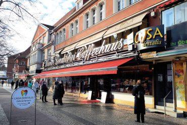 Schmargendorf, Hohenzollerndamm 92, Wiener Caffeehaus